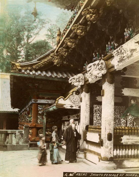 SHASHIN, Kaero Shinto Temple at Nikko