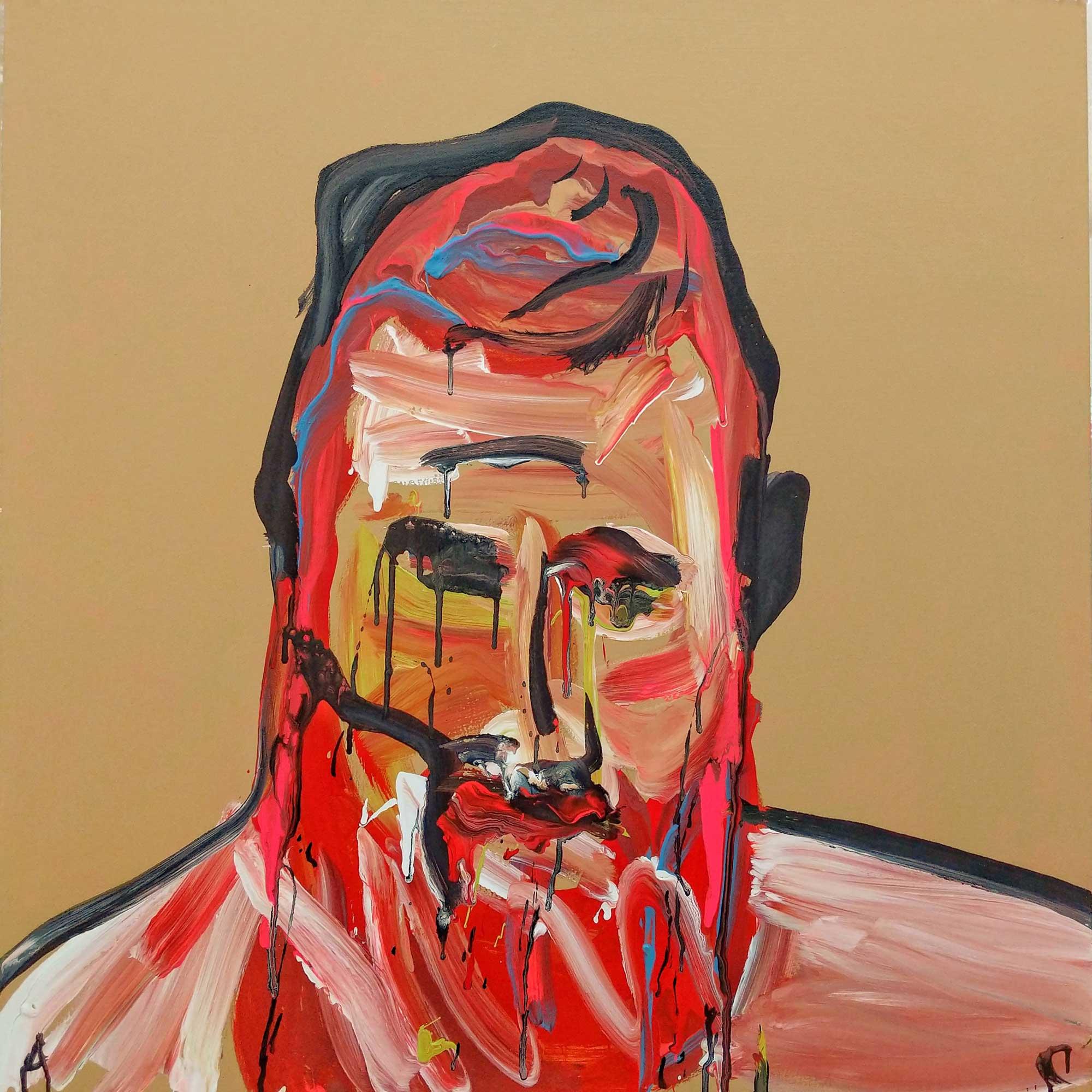 Adam Cullen Joe Burne Kelly Gang Painting