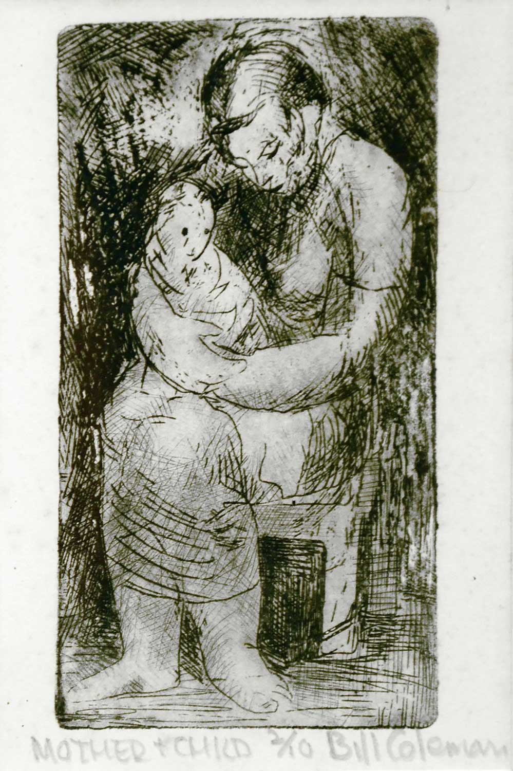 Bill Coleman Mother and Child artwork
