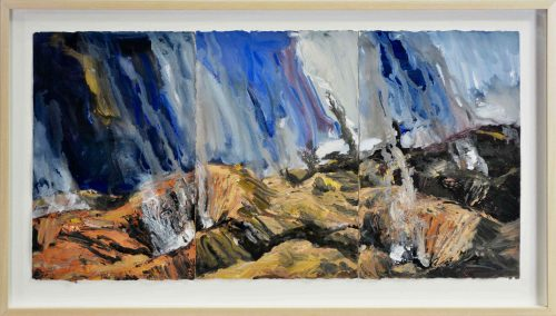 Euan Macleod (1956), Untitled, 2009 (Triptych) Framed