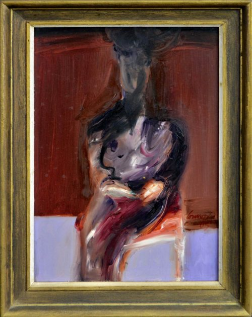 Kevin Connor Seated Figure II 1967