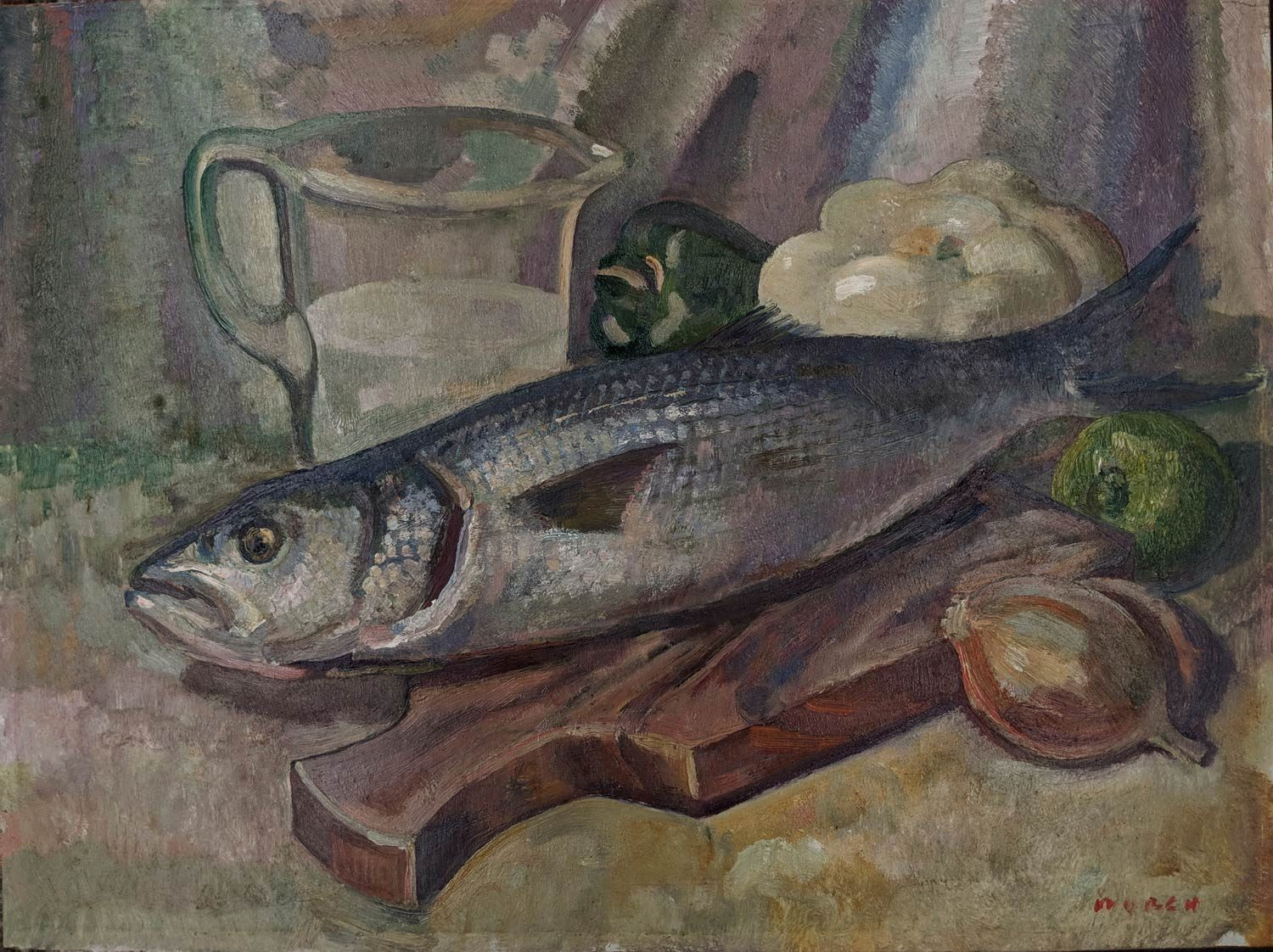 Arthur James Murch – Still Life With Fish
