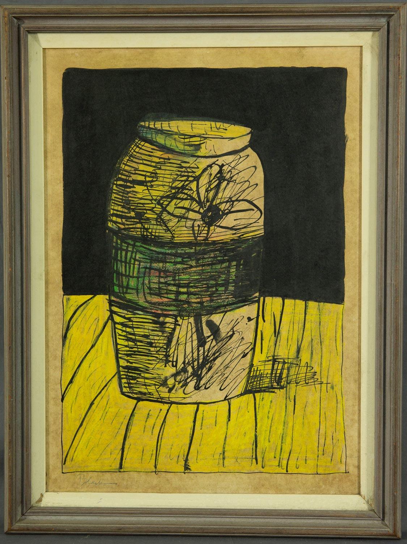 Charles Blackman Vase frame
