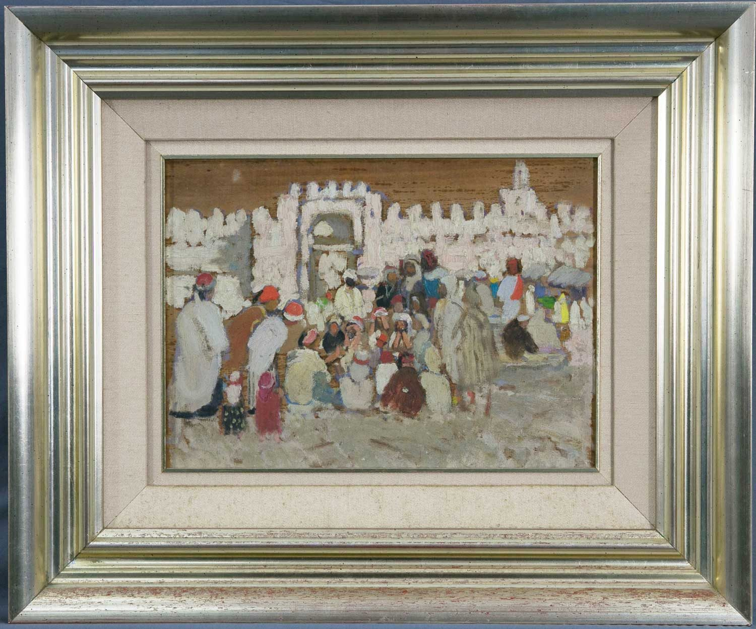 Ethel Carrick FOX Untitled framed