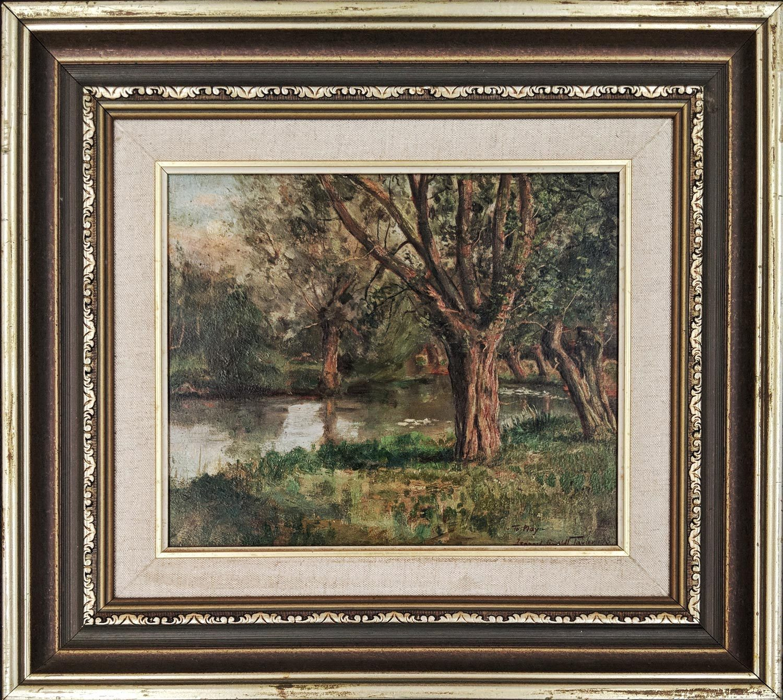 Leonard Campbell Taylor River Scene Framed
