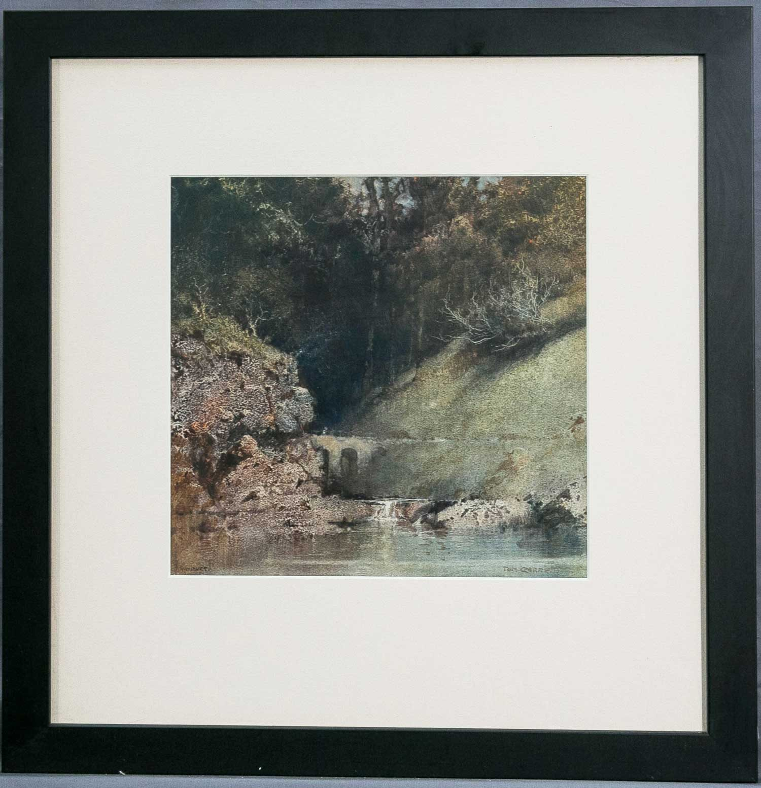 Tom Garrett Viaduct artwork framed