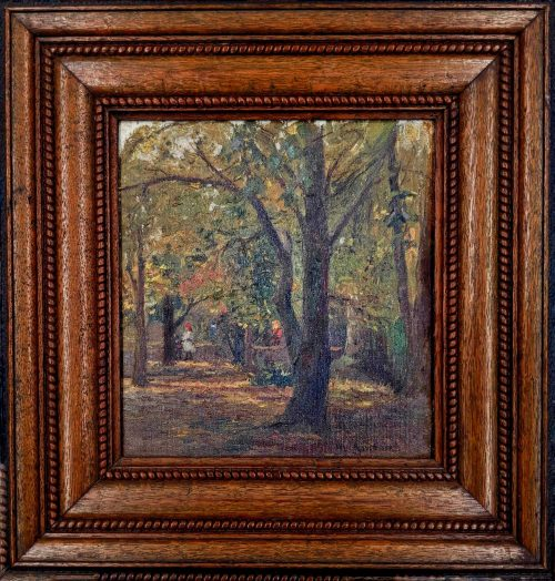 Will Ashton The Bridle Path Artwork Framed