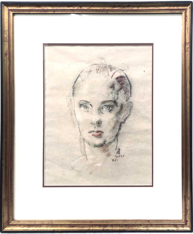 Arthur Murch – Female Portrait sketch