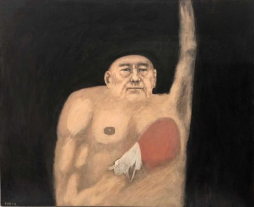 Hélène Grove, Untitled The Boxer artwork
