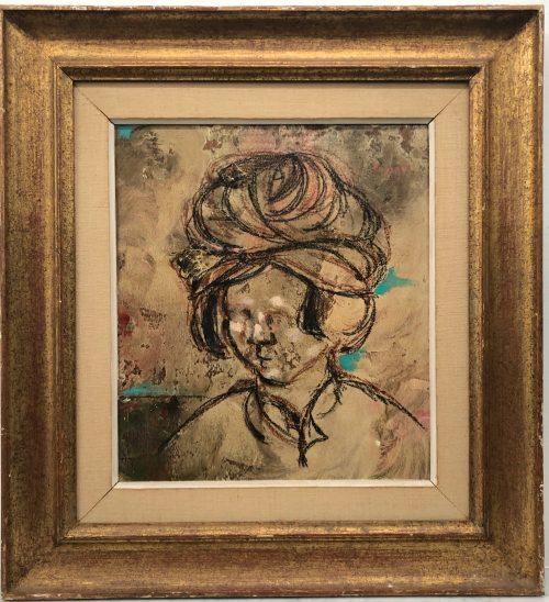 Lazzaro Donati Italian, Il Giovane Mattia The Young Maharajah 1961 artwork