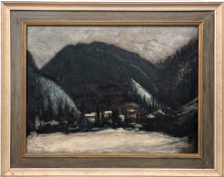 Desiderius Orban (1884-1986), Javorina (Carpathian Alps), 1922 painting