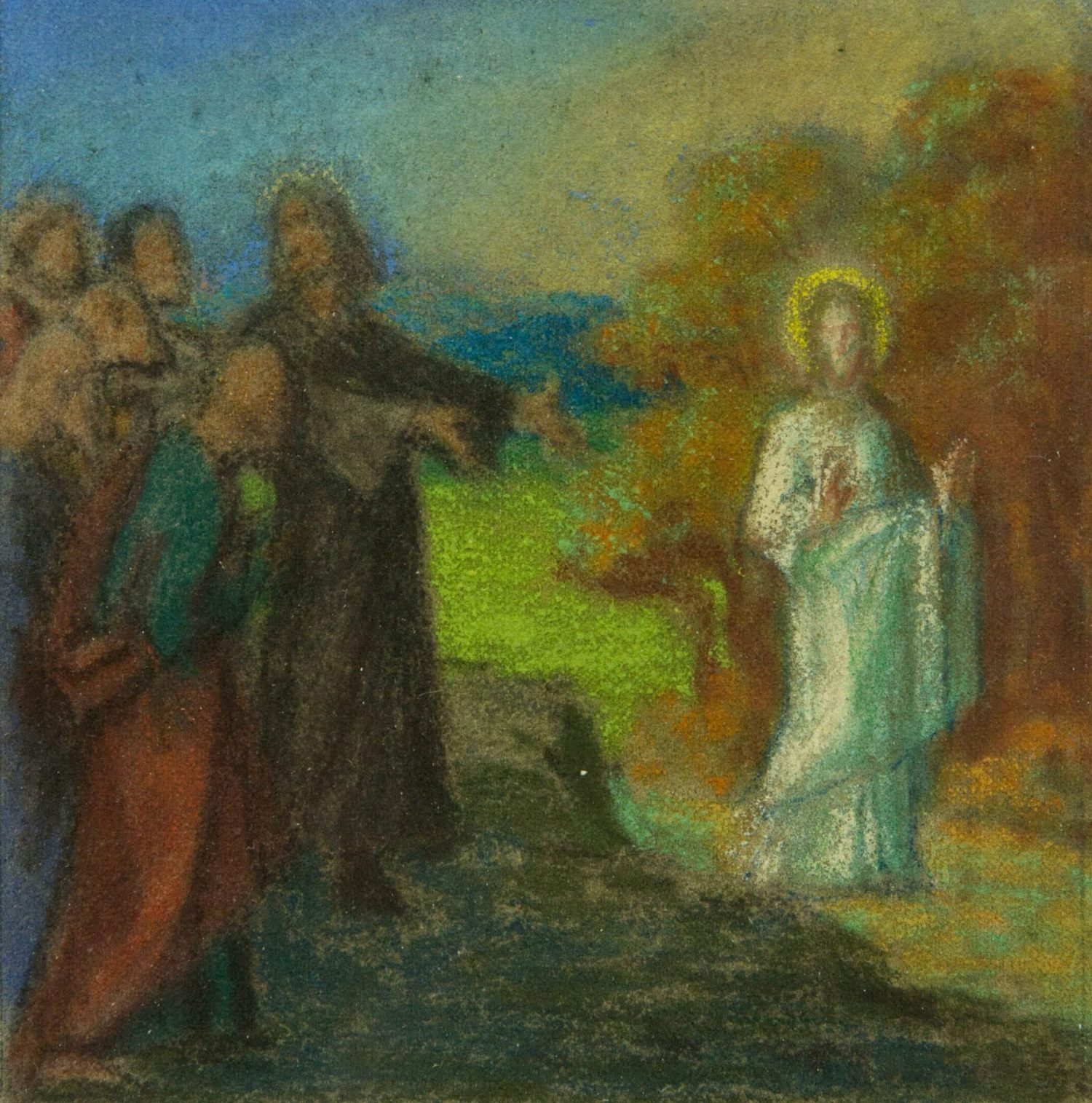 Unknown, Untitled (Jesus Appears before the Disciples)